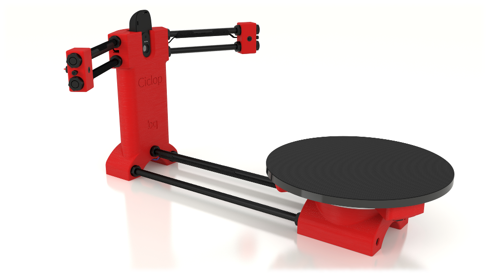 BQ Ciclop Scanner 3D en open source